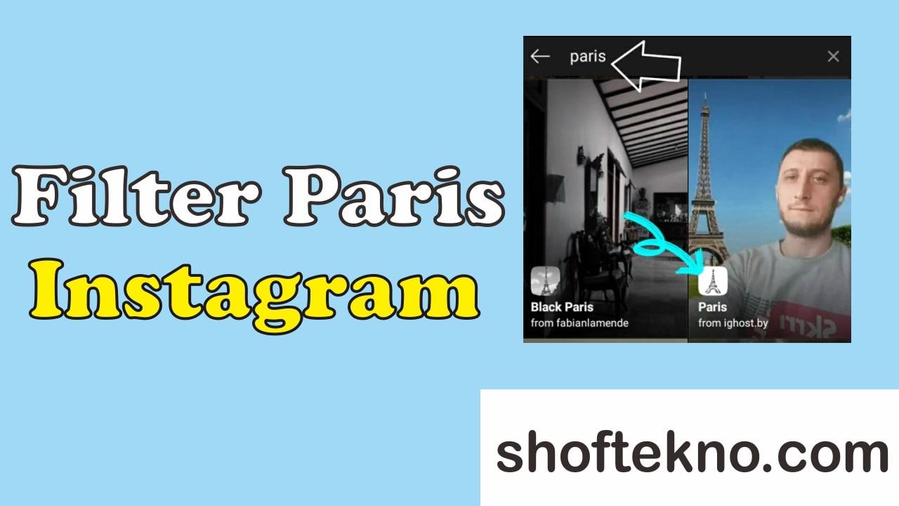 filter paris instagram