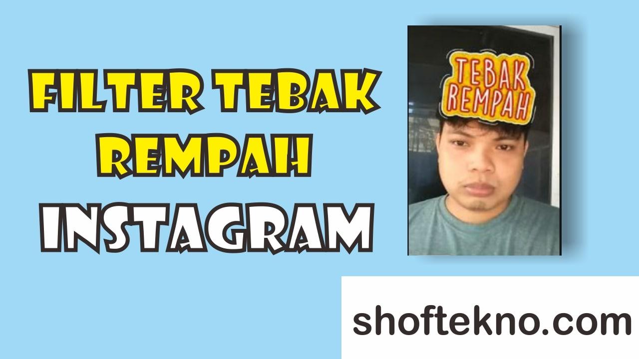 filter tebak rempah instagram