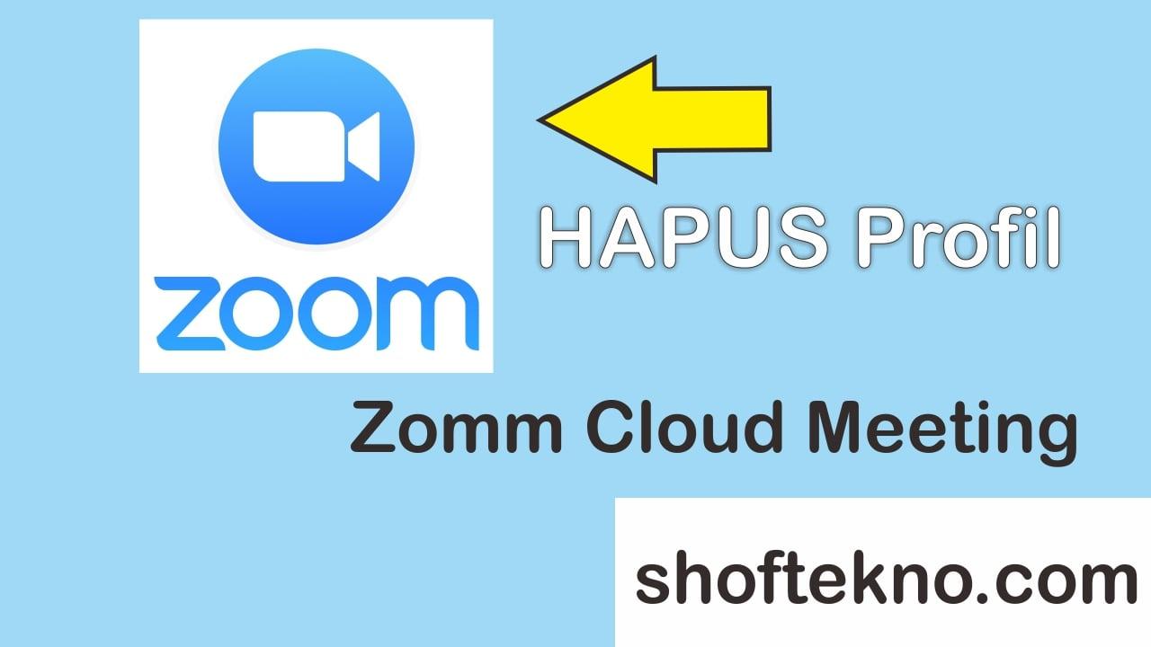 cara menghapus foto profil zoom