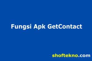 fungsi getcontact