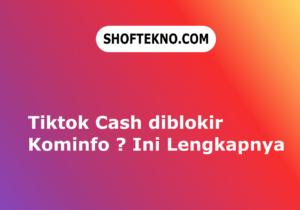 kominfo blokir tiktok cash