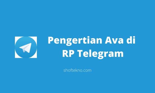 Pengertian Ava di RP  Telegram