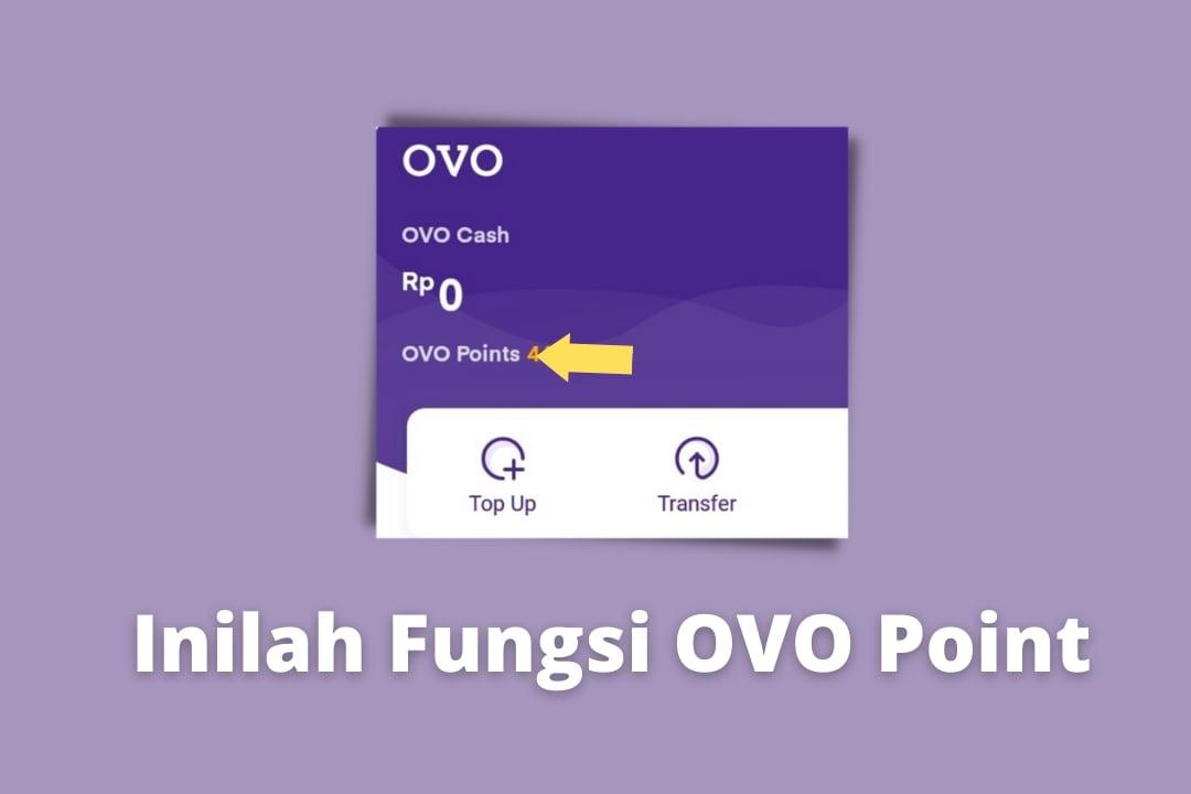 Inilah Fungsi OVO Point