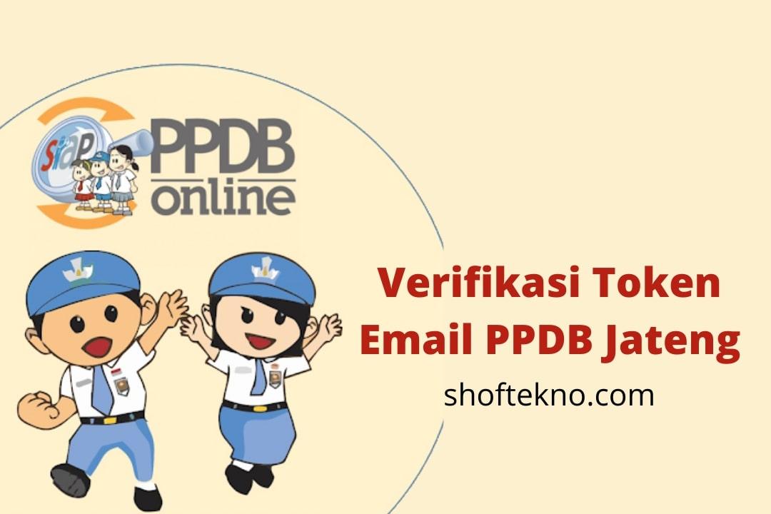 token verifikasi email ppdb jateng
